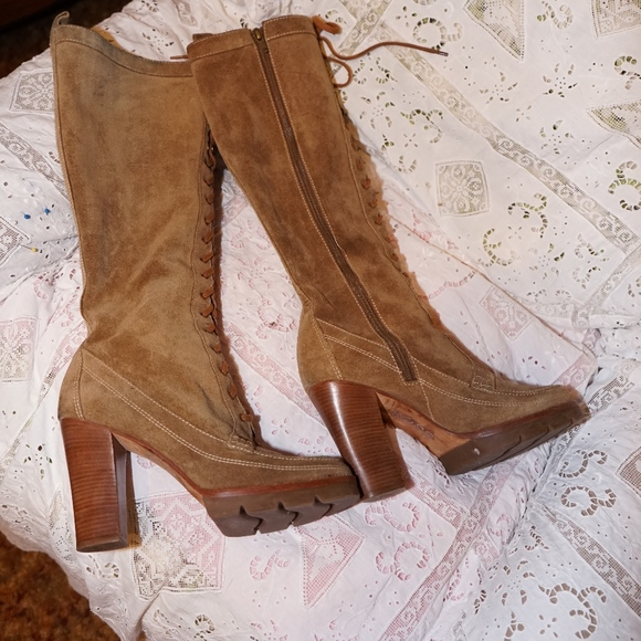 Michael Kors Shoes - Michael Kors Couture knee boots size 10